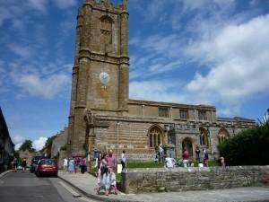 Cerne Abbas church