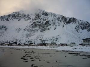 the beach at Ramberg, Lofoten Islands